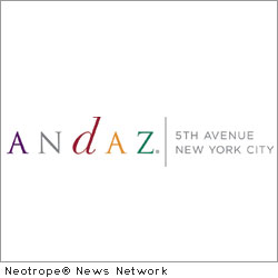 NEW YORK, N.Y. /New York Netwire/ -- Andaz 5th Avenue, a hotel inspired by the culture of New York City, announces the launch of tbd Art - a rotating art series. The first year of rotating art started on October 6th with artist M.Dreeland. In total, the hotel will have four diverse artists; M.Dreeland, Mister Cartoon, Claw Money and a final artist (currently TBD).