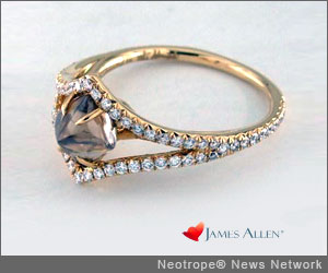 NEW YORK, N.Y. /New York Netwire/ -- Leading online diamond and luxury jewelry retailer, James Allen, announced today an exclusive online partnership with Diamond in the Rough, the most renowned brand for natural, rough diamond jewelry. Now James Allen customers can choose from a wide variety of over four hundred Diamond in the Rough ring styles or custom design their own.