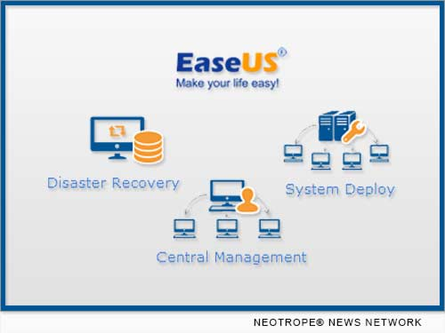NEW YORK CITY, N.Y. /New York Netwire/ -- EaseUS Software, the innovative software developer engaged in data backup, storage management and data recovery, now offers a safe, cost-effective and easy-to-use backup and recovery solution for business environments.