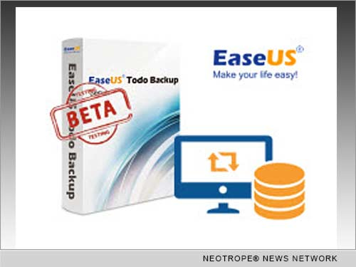 NEW YORK CITY, N.Y. /New York Netwire/ -- EaseUS Software, a leading international software provider for data backup, disaster recovery, and partition management solutions, today announced the release of EaseUS Todo Backup 7.0 Beta, which is the most reliable data backup and recovery tool-set to assist home and business users to ensure their data/system security.