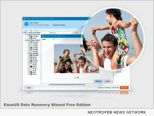 NEW YORK, N.Y. /New York Netwire/ -- Right after the long Christmas vacation, EaseUS Software takes immediate action to upgrade its data security protecting level and promotes its free data recovery software - EaseUS Data Recovery Wizard Free Edition - into an advanced version so as to better serve countless users by helping them solve complex data cases.