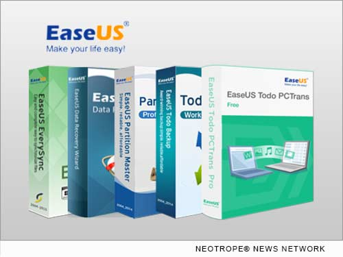NEW YORK CITY, N.Y. /New York Netwire/ -- EaseUS Software, a global leader for data backup and recovery, storage management and data migration, today announces all their products completely support the new Windows 10, including Todo Backup, Partition Master and Data Recovery Wizard. And EaseUS also launches a special offer for the customers who want to upgrade to Windows 10.