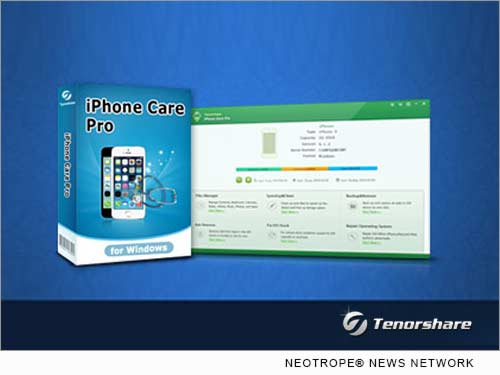 NEW YORK, N.Y. /New York Netwire/ -- Tenorshare Co. Ltd. has updated its iPhone Care Pro version 2.1.0.1 with a new intuitive design, providing an all-around and risk-free iOS management and repair solution. The new version of iPhone Care Pro repairs iOS system issues, deletes unwanted files, filters out annoying ads, and optimizes your ongoing performance.