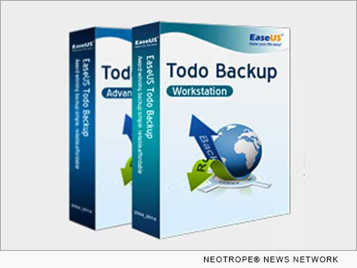 NEW YORK, N.Y. /New York Netwire/ -- EaseUS Software, the world leading software provider for data backup and disaster recovery solutions, today announces the release EaseUS Todo Backup 8.2, which offers most reliable and efficient data backup and recovery solution for home and business users.