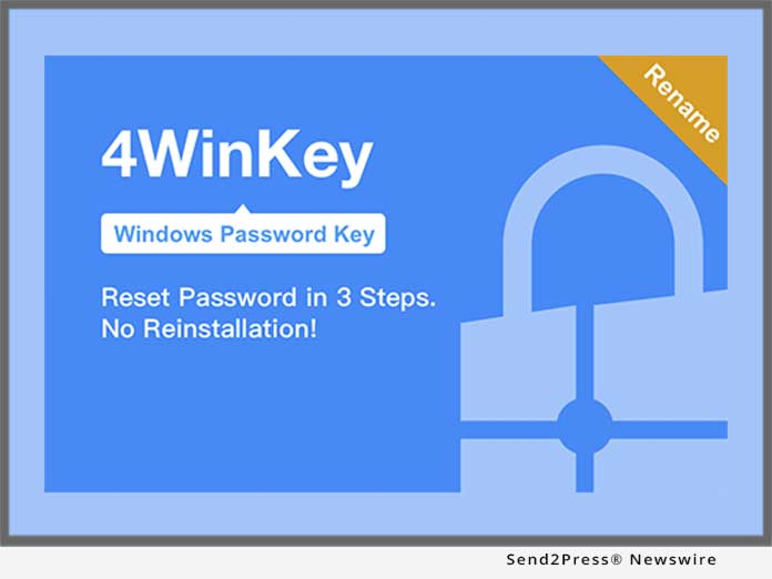 Windows Password Key Renamed to 4WinKey