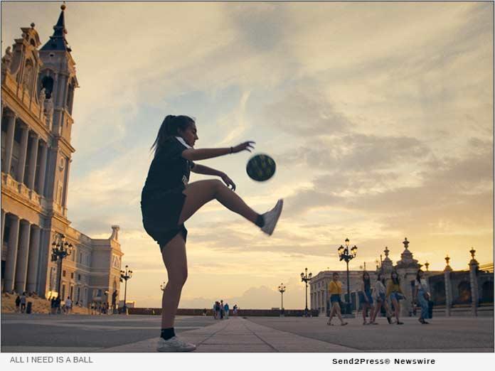 All I Need is a Ball - Paloma Pujol