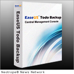 NEW YORK CITY, N.Y. /New York Netwire/ -- 2012 is coming, but it's not the end, it's a new start. At the beginning of the New Year, EaseUS Software, a leading provider of data recovery, partition manager and backup utilities, announces general availability of EaseUS Todo Backup 4.0. Exchange 2010 backup is available in this version. Moreover, the new release of EaseUS Todo Backup Central Management Console enables you to deploy backup plans to multiple clients.