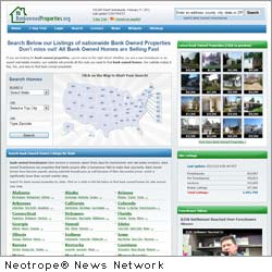 NEW YORK, N.Y. /New York Netwire/ -- According to Bank Owned Properties, some 600,000 properties in the U.S. are reported to begin the foreclosure process as the foreclosure industry begins to function more normally.
