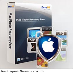 NEW YORK CITY, N.Y. /New York Netwire/ -- EaseUS Software, a leading provider of data recovery, partition manager and backup utilities, releases EaseUS Mac Photo Recovery Free to recover intentionally or accidentally deleted photo files; even after emptying trash with original file names. Quickly rescue your Mac OS photos and music, free of charge.