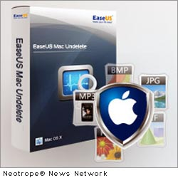NEW YORK CITY, N.Y. /New York Netwire/ -- EaseUS Software, a leading provider for both Windows data backup and disaster recovery and other storage management solutions, and Mac data recovery solutions, released EaseUS Mac Undelete at the end of March. It makes deleted data recovery under Mac OS X simple and easy.