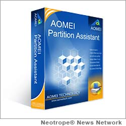 NEW YORK CITY, N.Y. /New York Netwire/ -- AOMEI Technology Co. Ltd. today released AOMEI Partition Assistant 5.1 worldwide downloads, the latest version of its best-selling partition software. Its ability to resize, migrate, merge, split, create and recover partitions makes it one of the most powerful partition software solutions in the market; and helped it win so many awards.