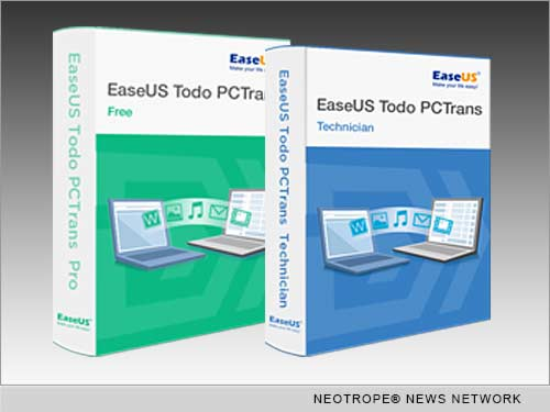 NEW YORK, N.Y. /New York Netwire/ -- EaseUS Software, a leader in data backup, recovery and partition management technology, announces the release of EaseUS Todo PCTrans 8.0 - the latest version of an excellent data migration software. The latest version with the newly unique technology improves the migration functions, allows users to transfer files, software, setting to another PC.