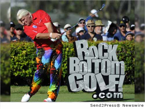 ROCHESTER, N.Y. /New York Netwire/ -- TGIB Marketing, Inc., parent company to Rock Bottom Golf, today announced a new endorsement deal with pro golfer, John Daly. This is the company's first big endorsement deal and they are very excited about where it will go. Daly is mostly known for his driving distance off the tee, earning him the nickname 'Long John.'
