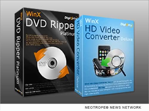 NEW YORK CITY, N.Y. /New York Netwire/ -- WinXDVD Software, a multimedia development group, part of Digiarty Software, Inc., today offers 2014 Cyber Monday deals featuring the giveaway of WinX HD Video Converter Deluxe v5.2.2 through Dec. 4. The promotion is accompanied by a 75 percent off WinX Black Friday Gift Pack, and a lowest priced but fully licensed DVD video converter bundle that includes also a well-known DVD ripper, which was offered at a just-concluded round.