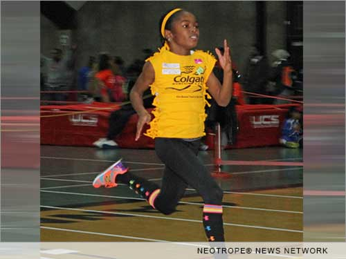 BROOKLYN, N.Y. /New York Netwire/ -- If you missed who was likely the nation's fastest eight year-old this time last year, no worries, she's just broken her own record on her ninth birthday. With four decades of top talent in the Colgate Women's Games track and field series to beat, Avery Lewis of Chester, Pa. is arguably the fastest third grader in the United States.
