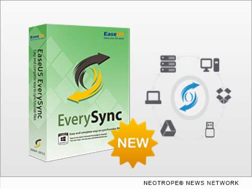 NEW YORK CITY, N.Y. /New York Netwire/ -- EaseUS Software, a leading software developer of data backup and recovery, file migration and storage management, today unveiled its file sync software, EaseUS EverySync 2.0, to provide home and business users a fast, easy and complete solution of file/folder sync.